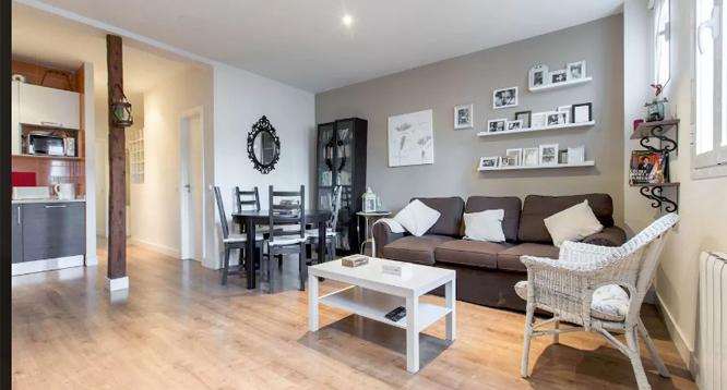 Madrid Lavapies apartamento 1 dormitorio