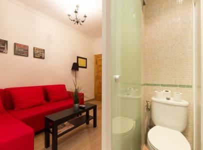 salón + baño